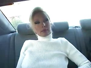 Blonde and mature soccer mom with huge tits fucks herself tmb